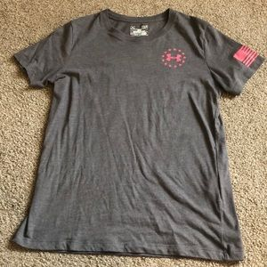 Freedom Wounded Warrior Project Tee - Size Small
